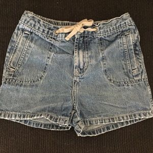 Circo Girls Distressed Jean Shorts - Size Small